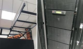 苏州飞瑞APC UPS电源为立达纺织信息机房提供供电保障