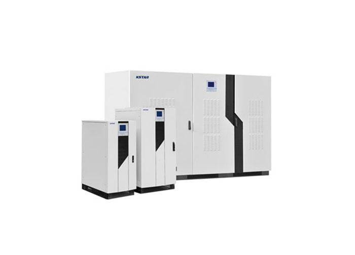 Epower系列UPS可为用户大中型数据中心、关键负载提供稳定的电力环境和可靠的电源保护,满足用户对大功率UPS的高可靠性要求。应用双变换在线式IGBT技术和双内置微处理器,保证稳定、纯净的正弦波输出,提供给用户安全可靠的电源保护。   先进的工作模式 双变换在线式设计,使UPS的输出为频率跟踪、锁相稳压、滤除杂讯、不受电网波动干扰的纯净正弦波电源,为负载提供更全面保护。 输出零转换时间,满足精密设备对电源的高标准要求。 带输入滤波器后输入功率因数可达到1.