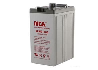 MCA 2V胶体UPS专用蓄电池GFMG系列
