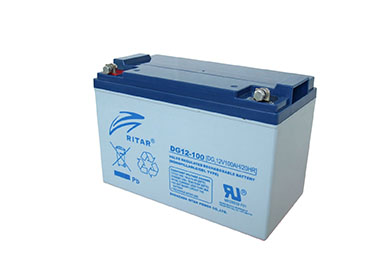 瑞达DG 12V系列 胶体深循环系列铅酸蓄电池