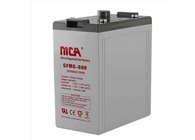 MCA GFMG 2V系列固定型胶体蓄电池